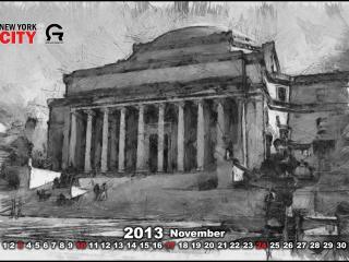 обои Календарь -  2013 Ноябрь фото