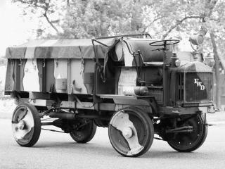 обои FWD Model B Ammunition Truck 1918 бок фото