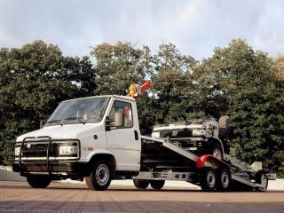 обои Fiat Ducato Tow Truck 1989 бок фото