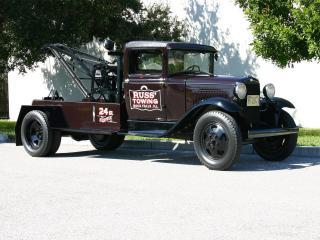 обои Ford Model AA Service Truck by Briggs (229A) 1931 сбоку фото
