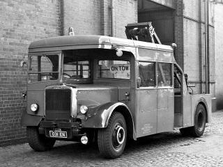 обои Leyland Titan PD36 (H4132RD) 1958 перед фото