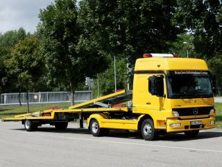 обои Mercedes-Benz Atego 824 Tow Truck 2005 бок фото
