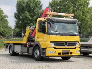 обои Mercedes-Benz Atego 1324 Tow Truck 2005 перед фото