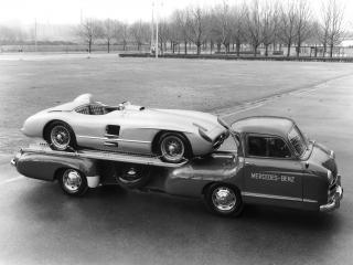обои Mercedes-Benz Blue Wonder Transporter 1954 сила фото