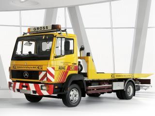 обои Mercedes-Benz LN814 Recovery Truck 1984 перед фото