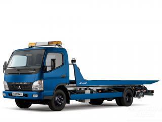 обои Mitsubishi Fuso Canter Tow Truck (FE7) 2002 бок фото