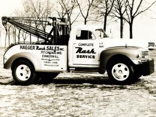 обои Nash Model 3148 Tow Truck 1948 бок фото