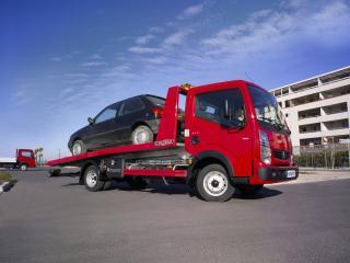 обои Renault Maxity Tow Truck 2008 сбоку фото