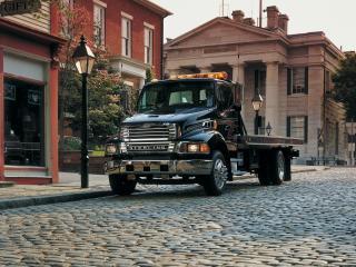 обои Sterling Acterra Tow Truck 2002 перед фото