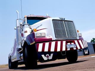 обои Western Star 4964 SX 6x4 Wrecker 2008 перед фото