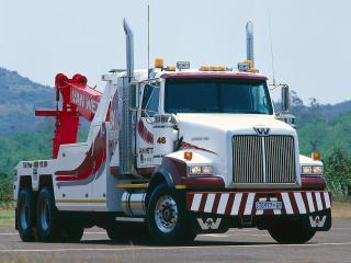 обои Western Star 4964 SX 6x4 Wrecker 2008 сбоку фото