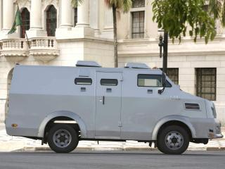 обои Volkswagen 9.150 ECE Armored Truck 2008 бок фото