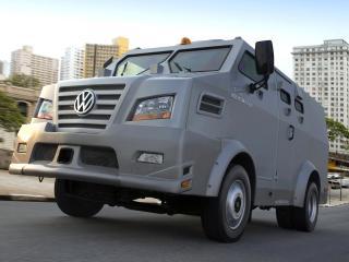 обои Volkswagen 9.150 ECE Armored Truck 2008 боком фото