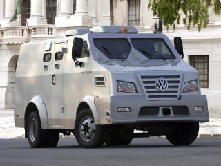 обои Volkswagen 9.150 ECE Armored Truck 2008 перед фото