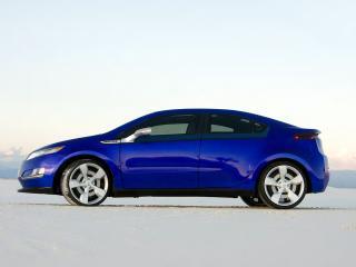 обои Chevrolet Volt Jolt 2009 бок фото