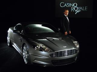 обои Aston Martin DBS 007 Casino Royale 2006 сила фото