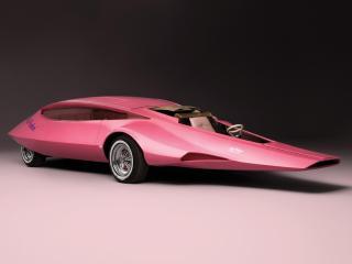 обои Pink Panther Car 1969 боком фото