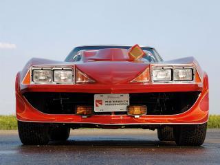 обои Corvette Stingray Roadster Corvette Summer C3 1978 фары фото