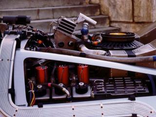 обои DeLorean DMC-12 Back to the Future 1985 детали фото
