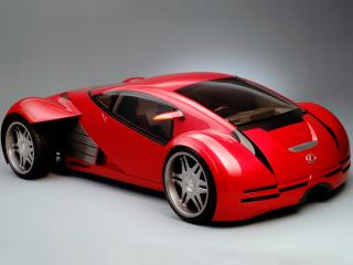 обои Lexus 2054 Minority Report Concept 2002 бок фото