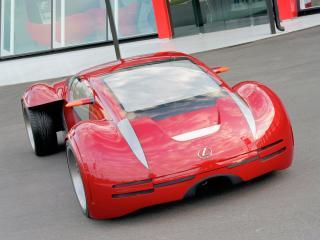 обои Lexus 2054 Minority Report Concept 2002 перед фото
