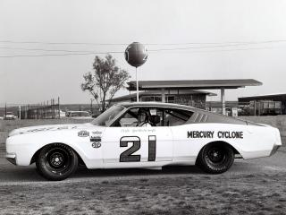 обои Mercury Cyclone Daytona 500 Race Car 1968 бок фото