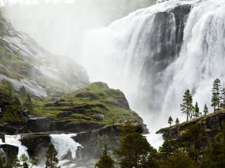 обои Большой водопад фото