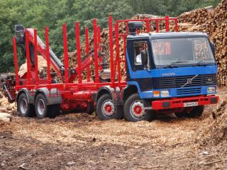обои Volvo FL7 UK-spec 1985 бок фото