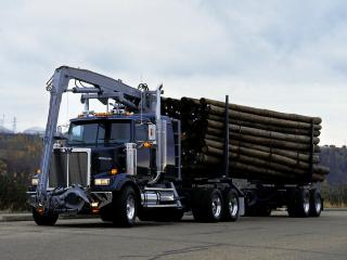 обои Western Star 4900 EX Self-Loader 2008 мощь фото