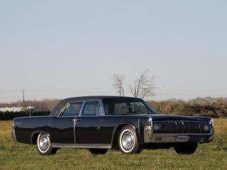 обои Lincoln Continental Town Limousine Presidential 1962 бок фото