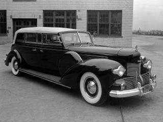 обои Lincoln Model K Sunshine Special Presidential Convertible Limousine 1939 бок фото