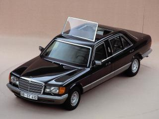 обои Mercedes-Benz S-Klasse Popemobile (V126) 1985 бок фото