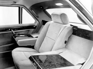обои Mercedes-Benz S-Klasse Popemobile (V126) 1985 внутри фото