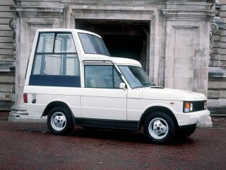 обои Range Rover Popemobile 1982 бок фото