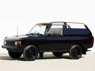 обои Range Rover Royal State Car 1974 бок фото