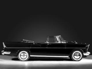 обои Simca Vedette Presidence Cabriolet 1957 бок фото