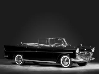 обои Simca Vedette Presidence Cabriolet 1957 сбоку фото