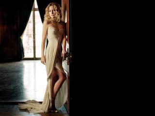 обои Kate в длинном платье фото