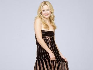 обои Kate в полосатом платье фото