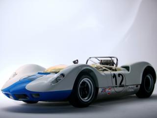 обои для рабочего стола: McLaren M1A 1964 боком