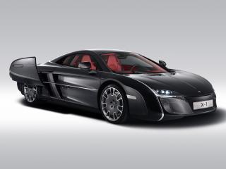 обои McLaren X-1 Concept 2012 черная фото