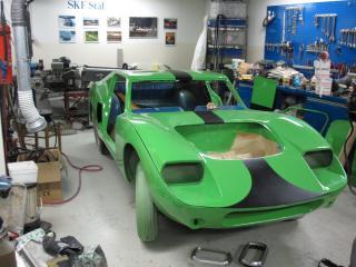 обои RPB GT гараж фото
