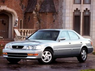 обои Acura TL 1996 сбоку фото