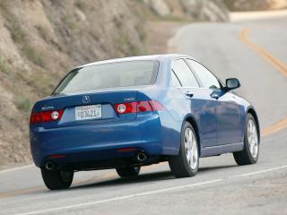 обои Acura TSX 2003 зад фото