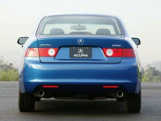 обои Acura TSX 2003 задок фото