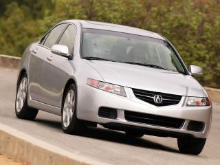 обои Acura TSX 2003 на дороге фото