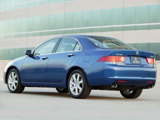 обои Acura TSX 2003 синяя фото