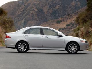 обои Acura TSX 2006 горы фото