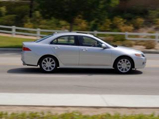 обои Acura TSX 2006 дорога фото