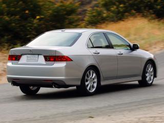 обои Acura TSX 2006 зад фото